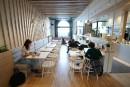 Un salon de thé pour amateurs d'architecture