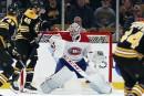 Canadien-Bruins: Price devant le filet, aucun changement à la formation