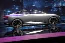 Le prototype Nissan IMs tout électrique lors de son dévoilement...   15 janvier 2019