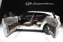 L'Infiniti QX Inspiration montré au Salon de l'auto de Détroit.... | 16 janvier 2019