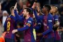 Le FC Barcelone maintient son rythme d'enfer