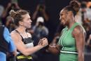 Serena Williams montre la sortie à Simona Halep