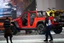 Le nouveau pickup Gladiator est mis en valeur au stand... | 21 janvier 2019