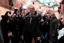 Céline Dion aux premières loges des défilésparisiens