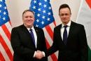 Mike Pompeo met en garde la Hongrie sur ses liens avec Moscou