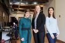 Trois ambassadrices des femmes en techno