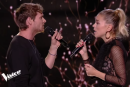 PO Beaudoin et Marina Bastarache à The Voice France