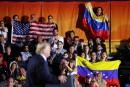 Donald Trumpmet en garde les chefs militaires vénézueliens