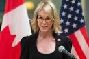 L'ambassadrice américaine au Canada nommée à l'ONU