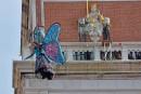 Exceptionnellement, deux vols de l'ange au carnaval de Venise