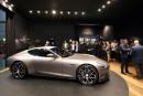Genève - L'arrière-petit-fils du fondateur de Porsche dévoile son bolide électrique