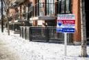 Recul des ventes d'habitations en février
