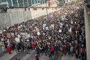 Les étudiants manifestent pour le climat à Montréal