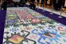 Un «tapis bosnien» confectionné avec 25000 bouchons en plastique