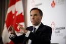 Trudeau et Morneau vantent leur budget