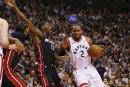 Victoire des Raptors face au Heat, 117-109
