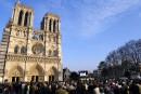 Notre-Dame en flammes: coup dur pour le tourisme