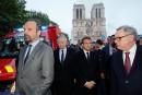 Macron: «Cette cathédrale, nous la rebâtirons»