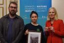 Climat: les jeunes militants interpellent la ministre McKenna