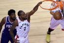 Les Raptors prennent les devants face aux 76ers