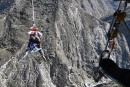 Catapulte humaine aupays dubungee àQueenstown