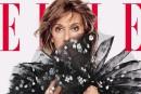 CélineDion en couverture du Elle américain