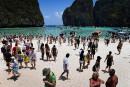 La baie du film The Beach fermée jusqu'en 2021