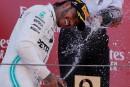 LewisHamilton triomphe au Grand Prix d'Espagne, Stroll abandonne