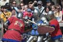 Mille guerriers croisent le fer au Championnat du monde de combat médiéval