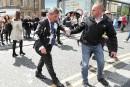 Jet de lait frappé contre Nigel Farage: le suspect inculpé