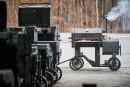 Hamrforge, le poids lourd du barbecue