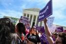 Des Américains «inquiets» manifestent pour défendre le droit à l'avortement