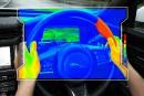 Jaguar Land Rover travaille sur un volant thermo-sensoriel