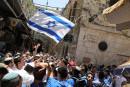 Des milliers d'Israéliens paradent pour célébrer la prise de Jérusalem-Est