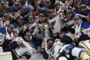 Les Blues champions de la Coupe Stanley