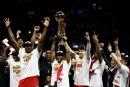 Les Raptors remportent le premier titre de leur histoire