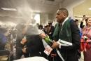 Le président des Raptors accusé d'avoir bousculé un policier