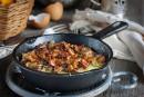 Omelette aux chanterelles
