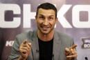 Wladimir Klitschko secouru en mer