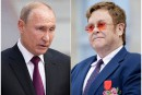 Elton John dénonce Vladimir Poutine