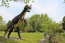 Les dinosaures de la liberté le long de la 401