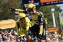 Tour de France: Mike Teunissen conserve le maillot jaune