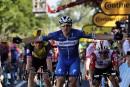 Tour de France: Elia Viviani remporte la quatrième étape