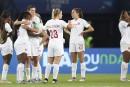 Soccer féminin: le Canada glisse au septième rang