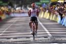 Tour de France: Thomas De Gendt s'impose lors de la huitième étape