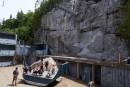 Cirque de la Pointe-Sèche: lecirque prend son élan dansleBas-Saint-Laurent