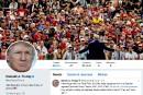Trump suivi par 19% des utilisateurs américains de Twitter