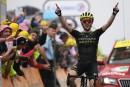 Tour de France: deuxième victoire d'étape pour Simon Yates