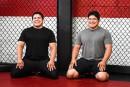 Phillip et Thomas Barreiro: lutteurs et modèles