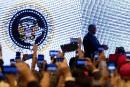 Le sceau présidentiel trafiqué lors d'un discours de Trump